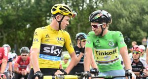 Peter Sagan and Chris Froome light up the Tour de France